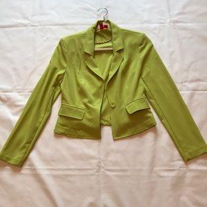 Lime green Forever21 blazer